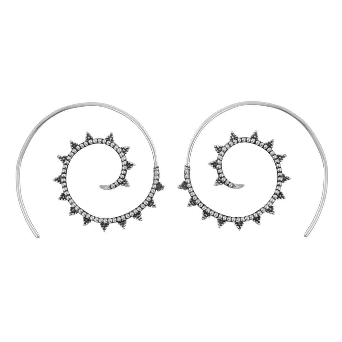 Midsummer Star Earrings Sankalpa Hoops