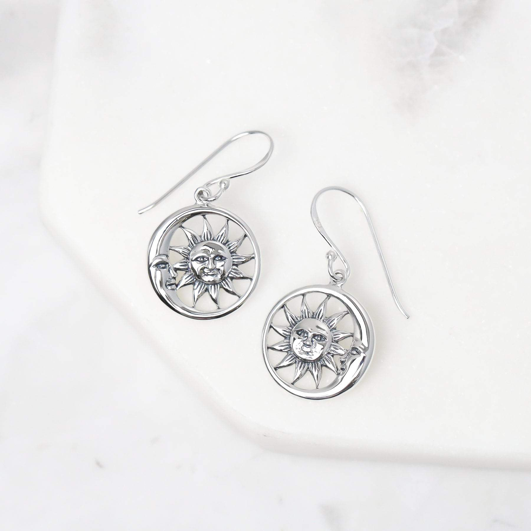 Midsummer Star Earrings Solem and Lunam Earrings