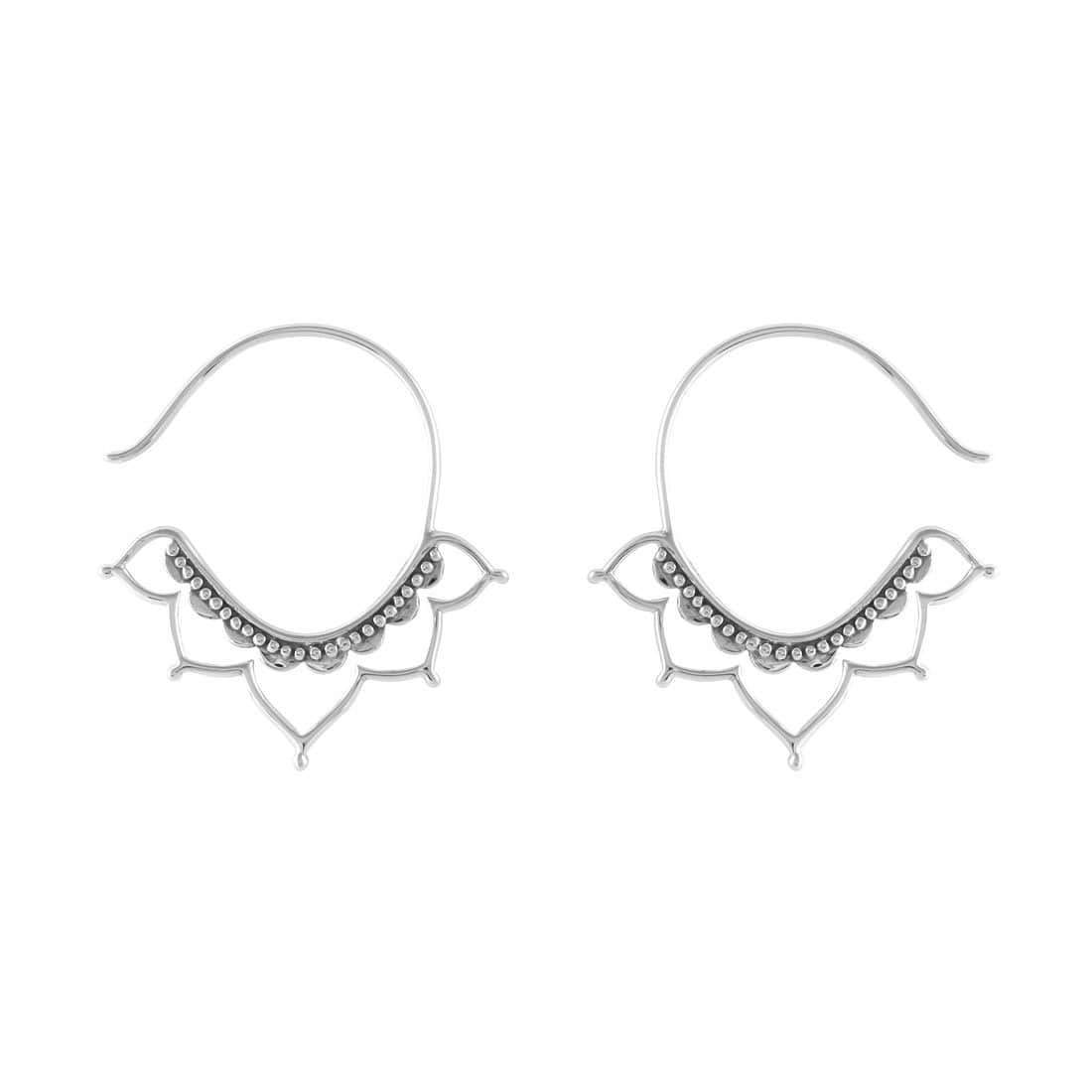 Midsummer Star Earrings Templum Hoops