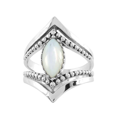 Midsummer Star Earrings The Goddess Marquise Pearl Ring