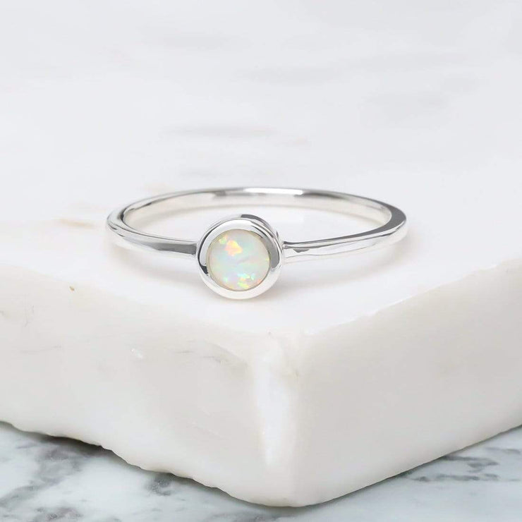 Midsummer Star Elixir Opal Ring