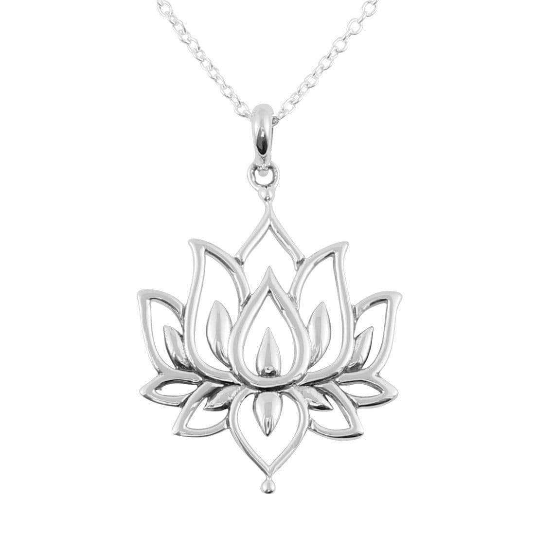 Midsummer Star Necklaces Blossoming Lotus Necklace