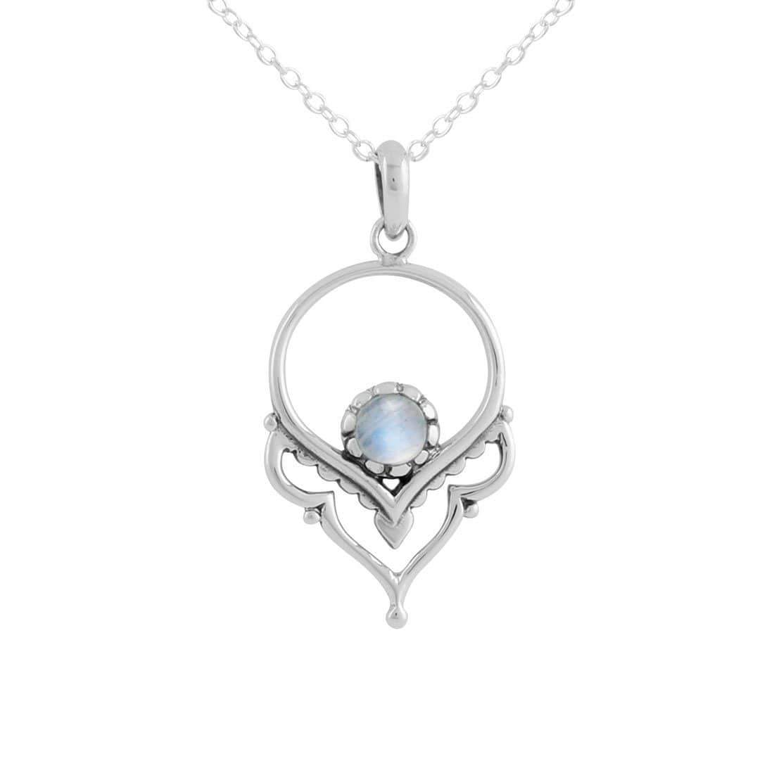 Midsummer Star Necklaces Dainty Affirmation Moonstone Necklace