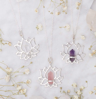Midsummer Star Necklaces Everlasting Lotus Necklace