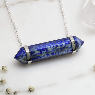 Midsummer Star Necklaces Lapis Lazuri Freedom 50mm Crystal Necklace