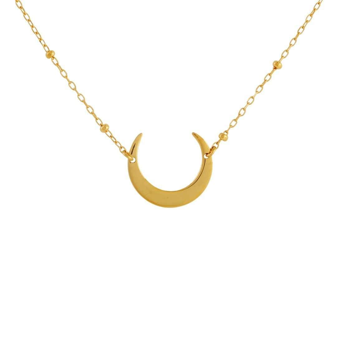Midsummer Star Necklaces Gold Moon Eclipse Necklet