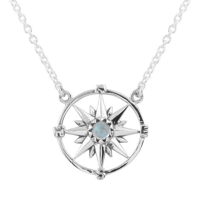 Midsummer Star Necklaces Guiding Light Compass Necklace