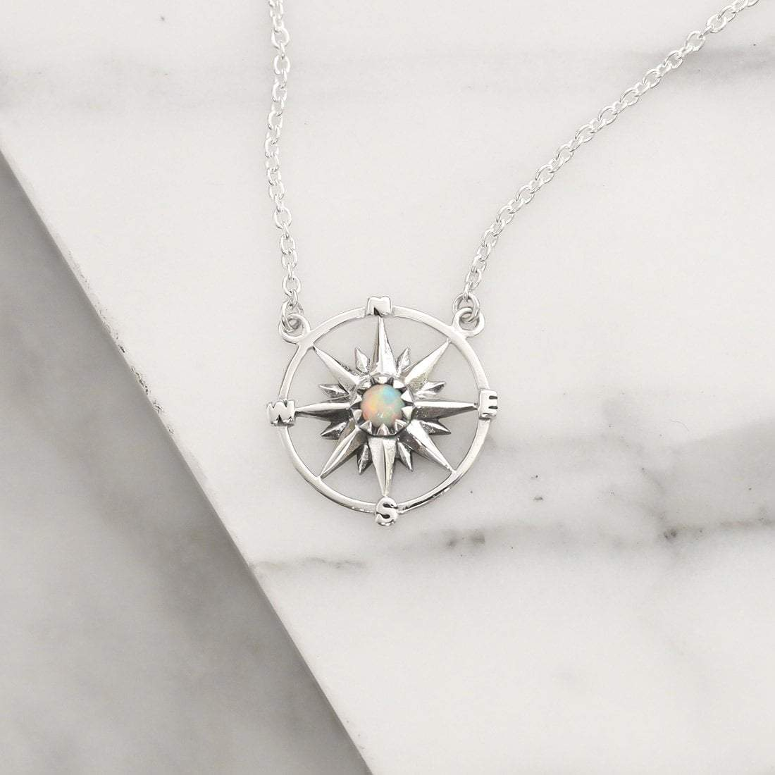 Midsummer Star Necklaces Guiding Light Opal Necklace