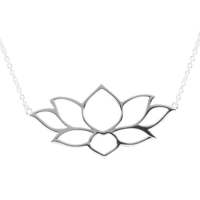 Midsummer Star Necklaces Holding The Light Lotus Necklace