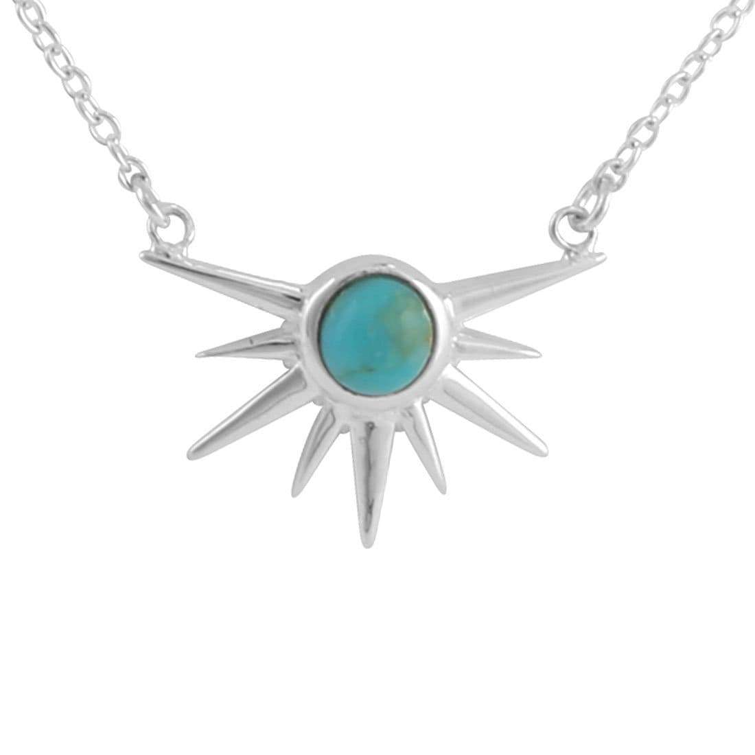Midsummer Star Necklaces Sun Spire Turquoise Necklace