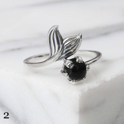 Midsummer Star Ring 2 - Onyx / 5 12 Days of Festivities - Sample Sale 1