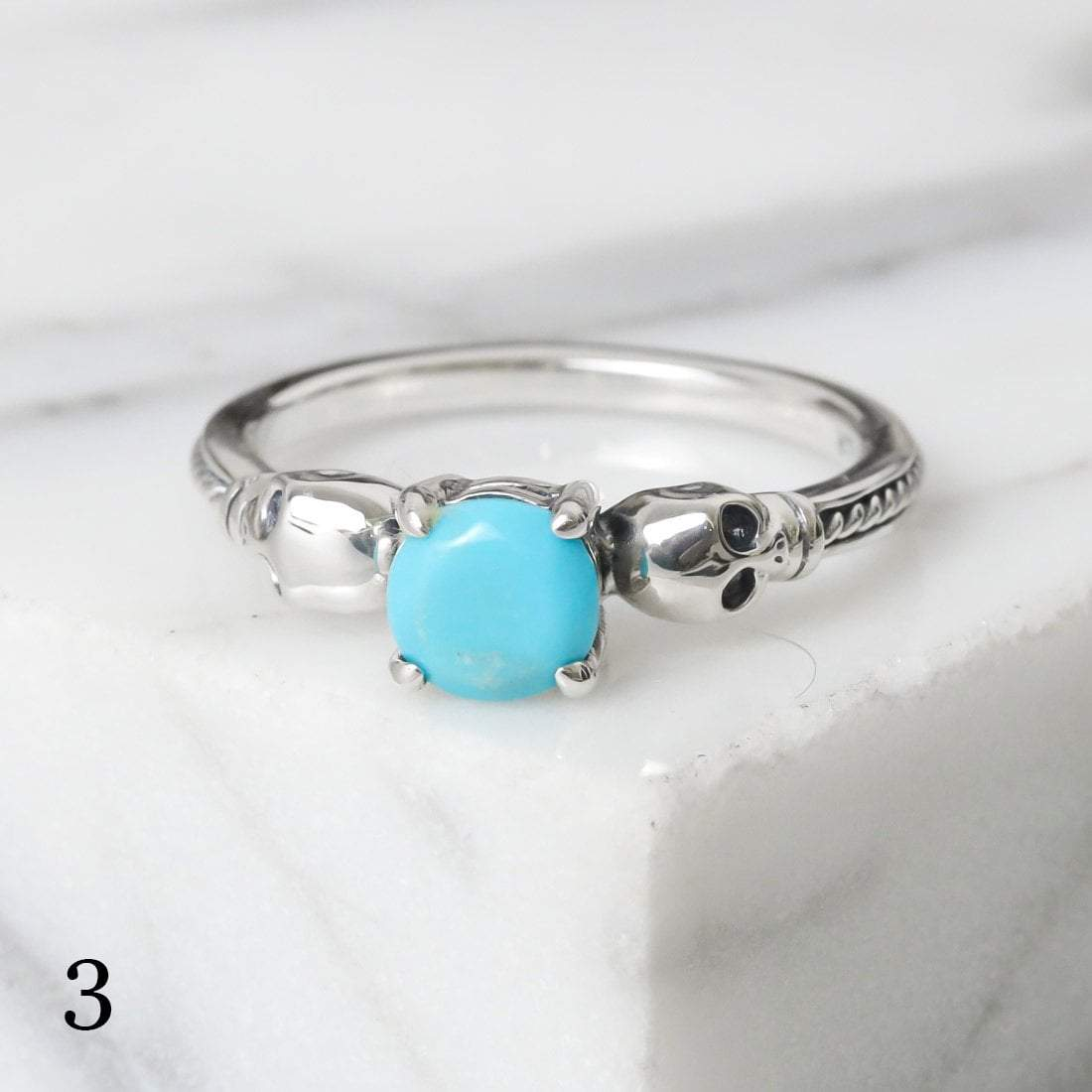 Midsummer Star Ring 3 - Turquoise / 5 12 Days of Festivities - Sample Sale 1