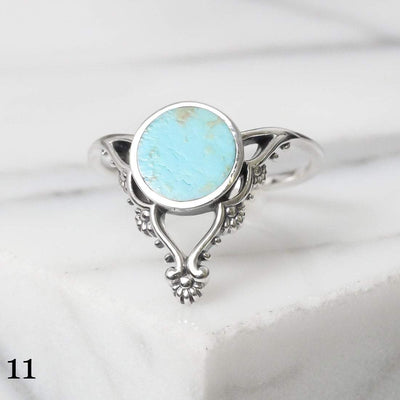 Midsummer Star Ring 11 - Turquoise / 5 12 Days of Festivities - Sample Sale 1