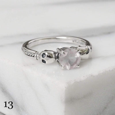 Midsummer Star Ring 13 - Rose Quartz / 5 12 Days of Festivities - Sample Sale 1