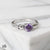 Midsummer Star Ring 16 - Amethyst / 6 12 Days of Festivities - Sample Sale 1