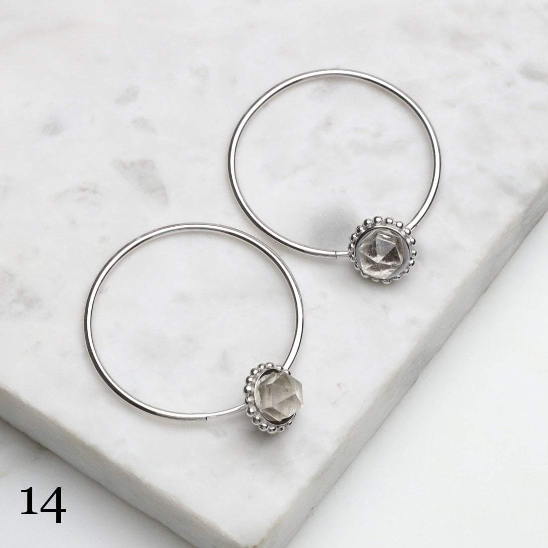Midsummer Star Ring 14 - Crystal 12 Days of Festivities - Sample Sale 2