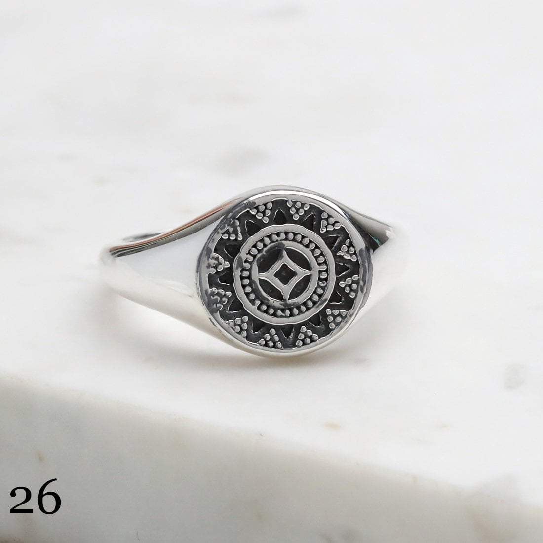 Midsummer Star Ring 26 -Size 6 12 Days of Festivities - Sample Sale 2
