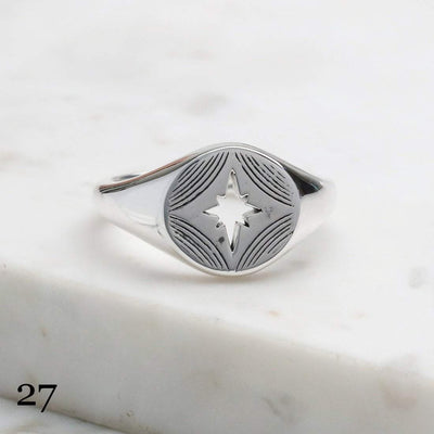 Midsummer Star Ring 27 -Size 6 12 Days of Festivities - Sample Sale 2