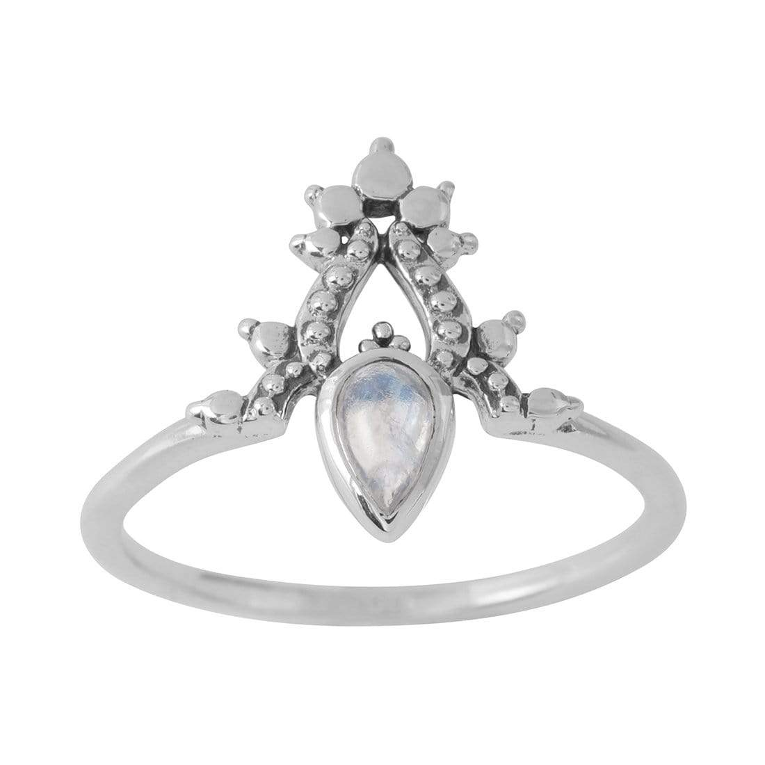 Midsummer Star Ring Desire Moonstone Ring