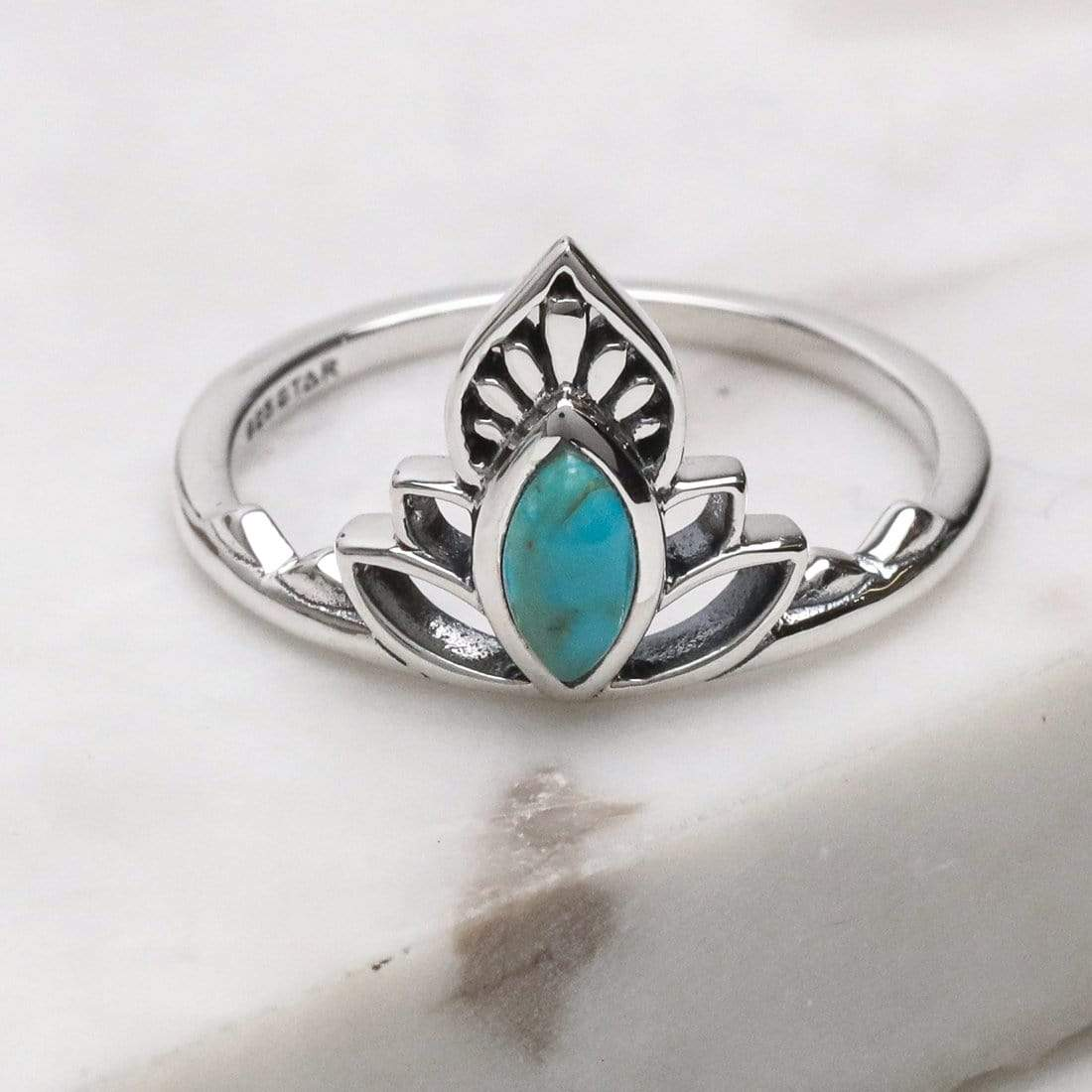 Midsummer Star Ring Discovery Turquoise Ring