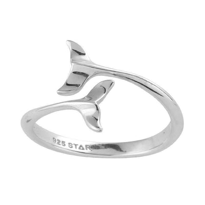 Midsummer Star Ring Dolphins Embrace Ring