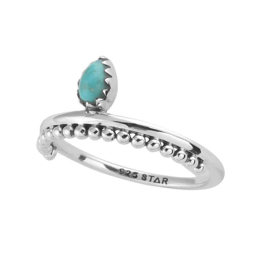 Midsummer Star Ring Drop In The Ocean Turquoise Ring