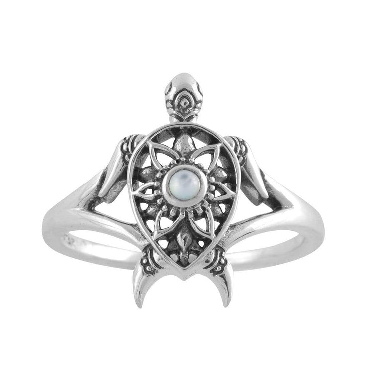 Midsummer Star Ring Enlightened Pearl Spirit Turtle Ring