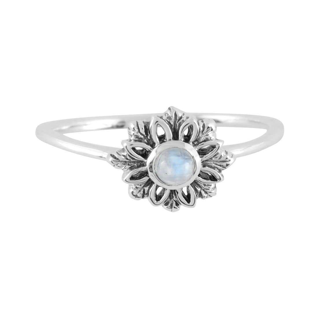Midsummer Star Ring Essence Moonstone Ring