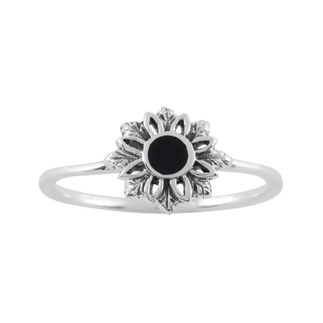 Midsummer Star Ring Essence Onyx Ring
