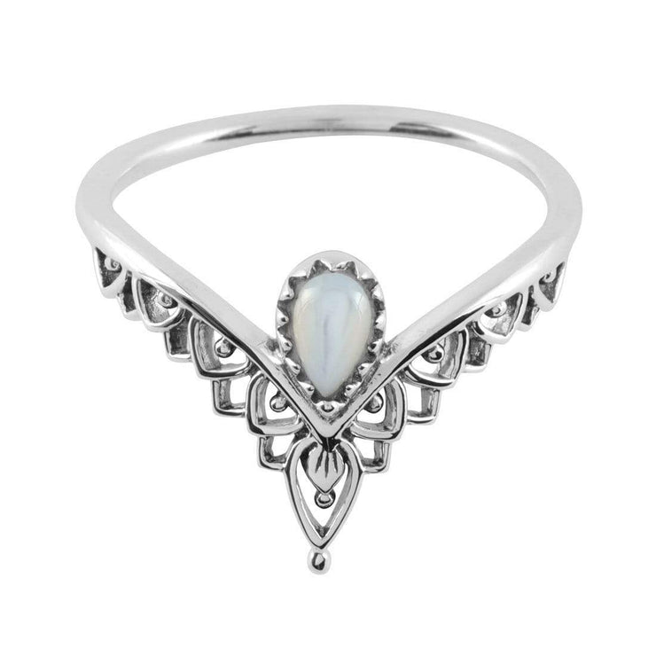 Midsummer Star Ring Existence Mother of Pearl Ring