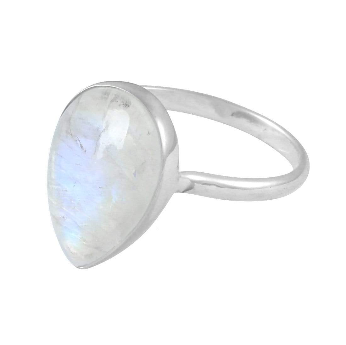 Midsummer Star Ring Freesia Moonstone Ring