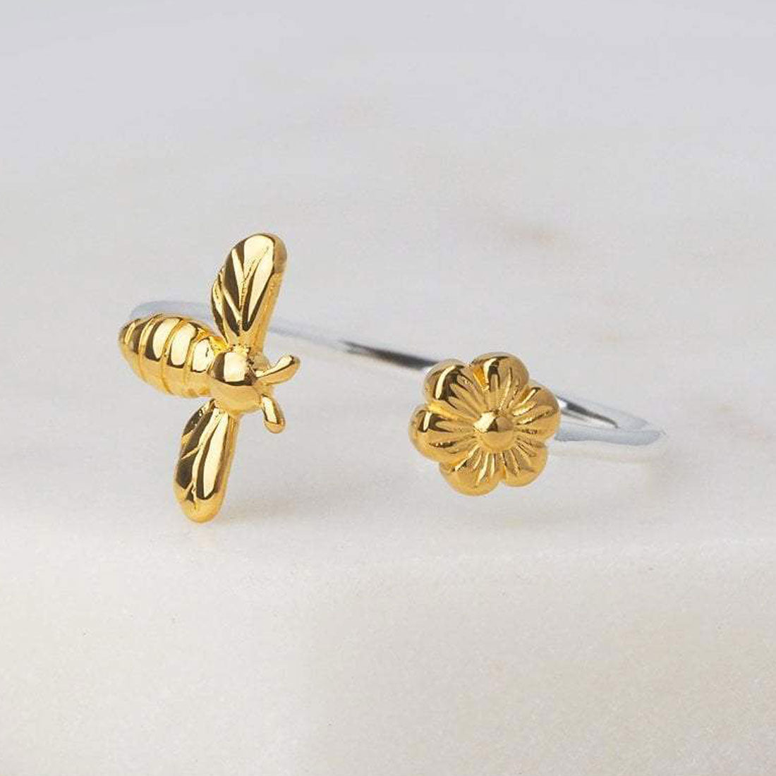 Midsummer Star Ring Gold Meant To Bee Ring