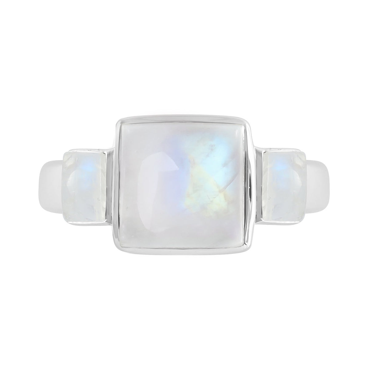 Midsummer Star Ring Heirloom Moonstone Ring