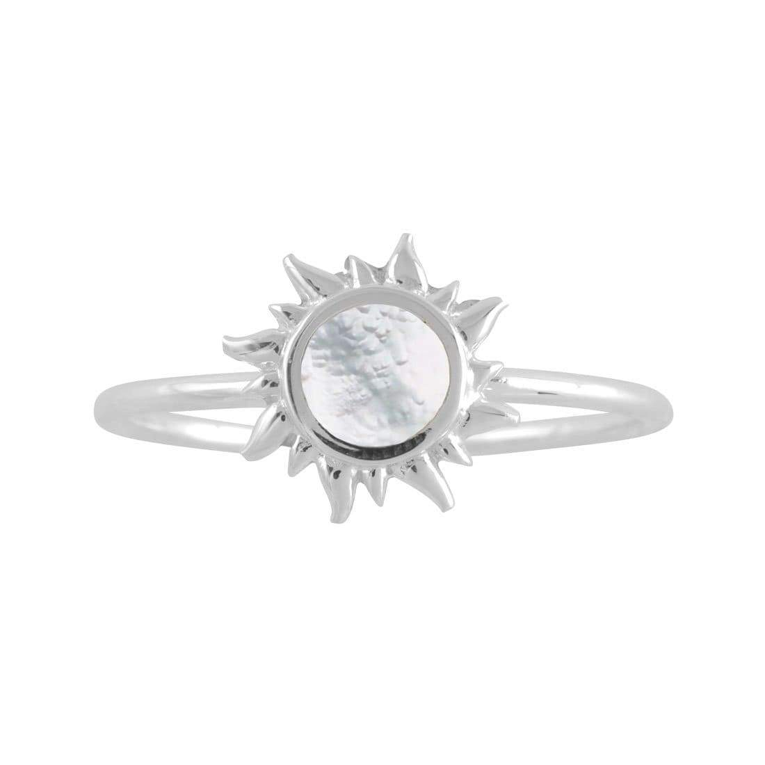 Midsummer Star Ring Iridescent Dawn Ring
