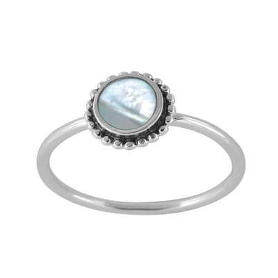 Midsummer Star Ring Iridescent Sun Ring