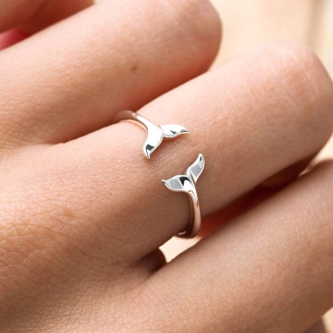 Midsummer Star Ring Leaping Dolphins Ring