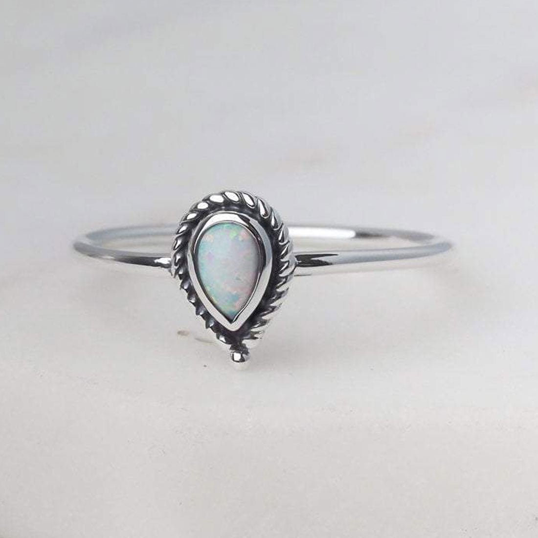 Midsummer Star Ring Luria Opal Ring