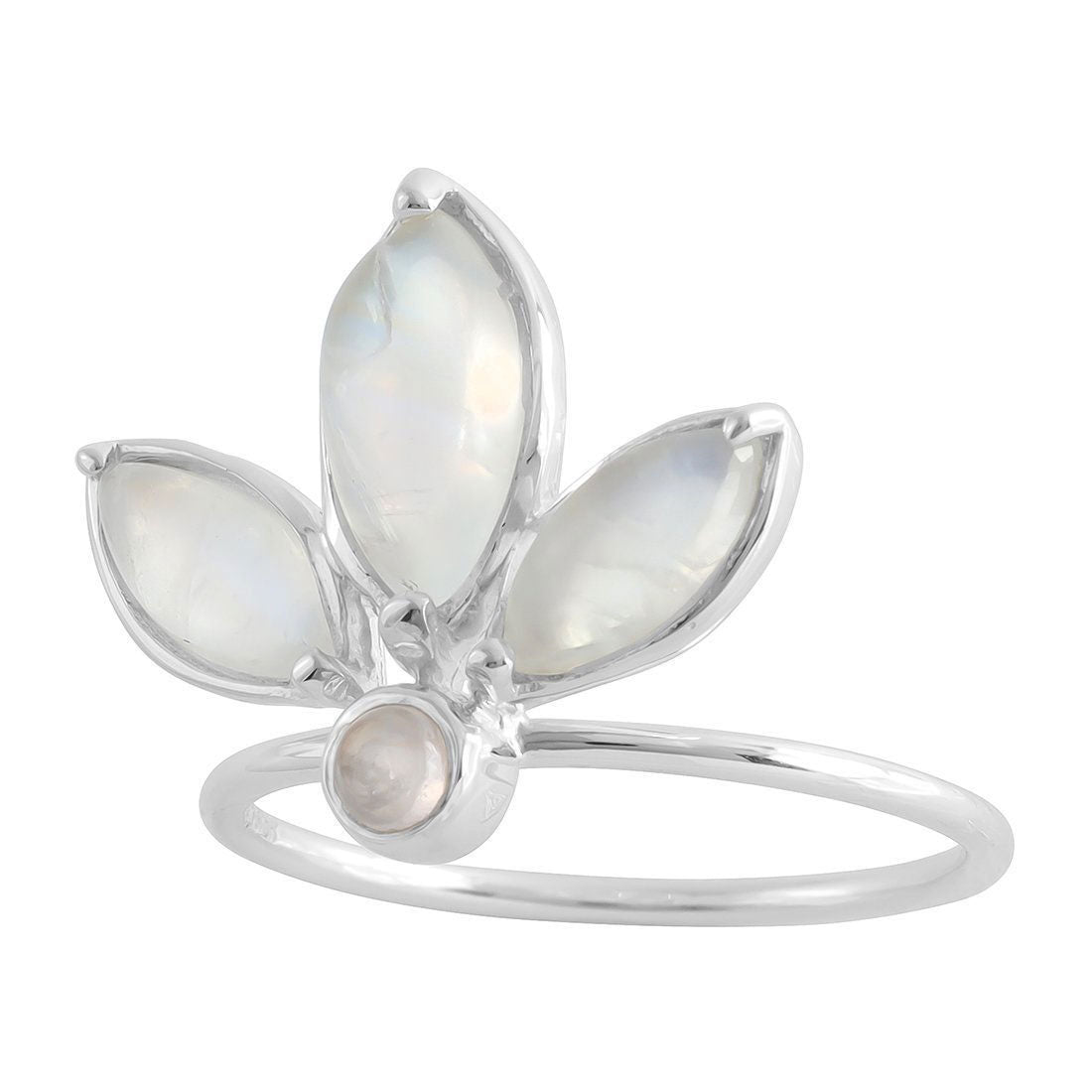 Marquise Tiara Moonstone Ring