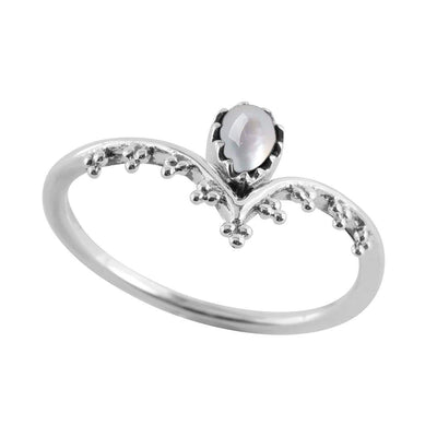 Midsummer Star Ring Mysticism Pearl Ring