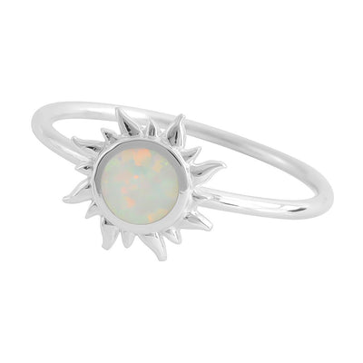 Midsummer Star Ring Opal Dawn Ring