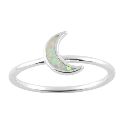 Midsummer Star Ring Opal Moon Shimmer Ring