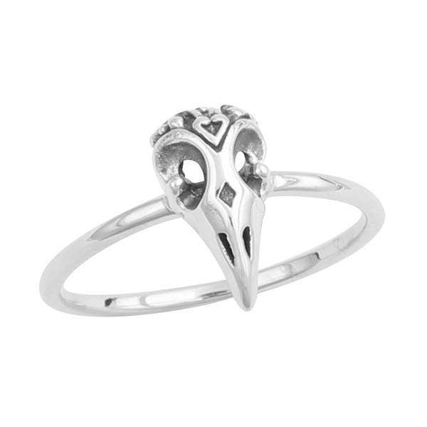 Midsummer Star Ring Otherworld Raven Skull Ring