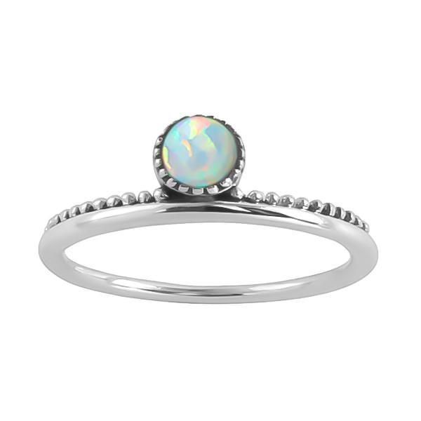 Midsummer Star Ring Parallel Worlds Opal Ring