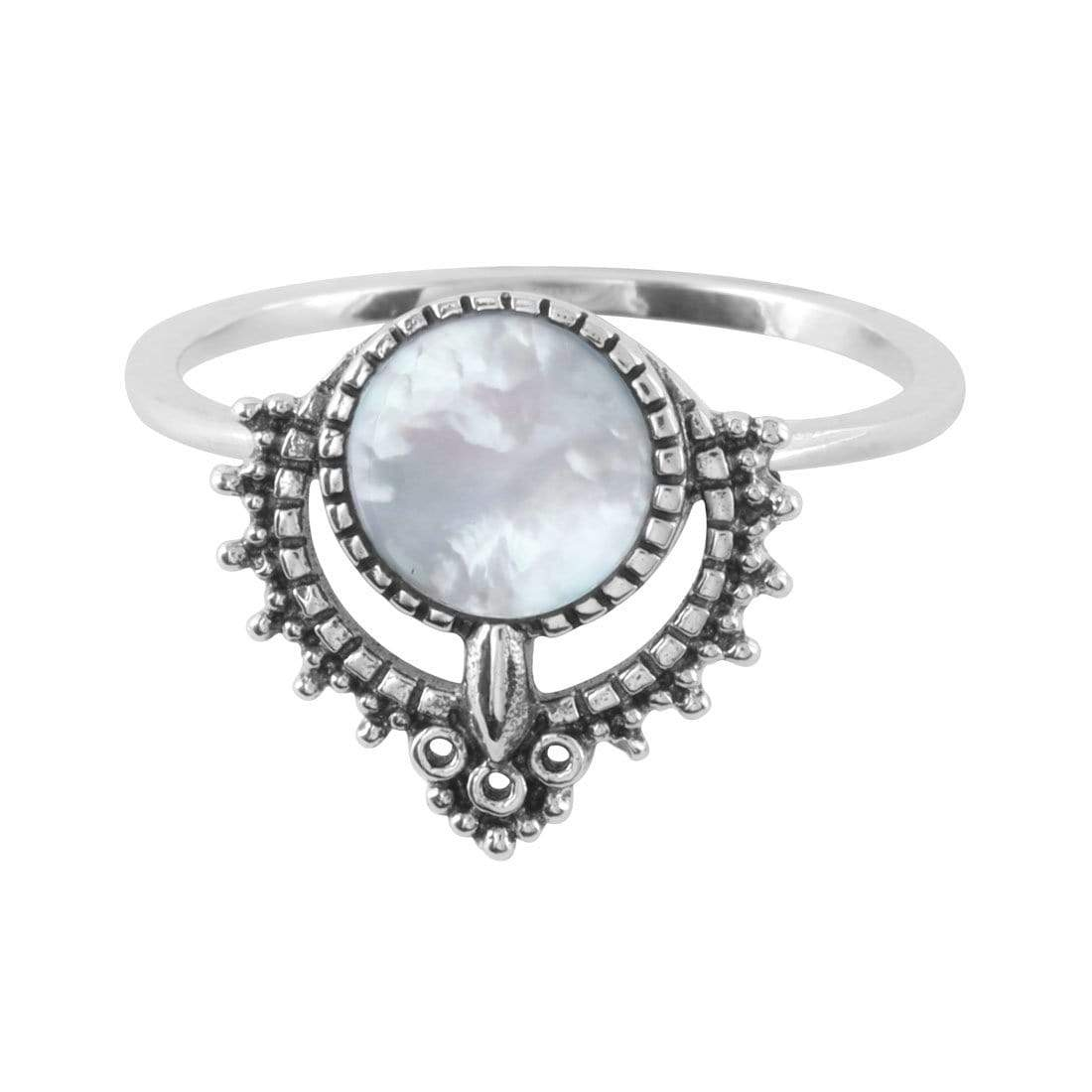 Midsummer Star Ring Periyar Pearl Ring