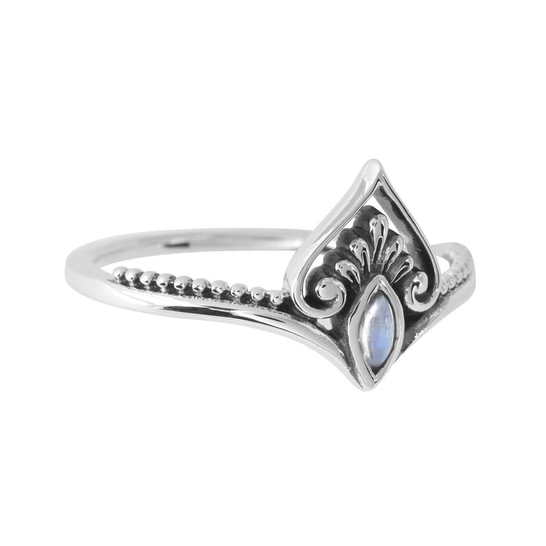 Midsummer Star Ring Realisation Moonstone Ring