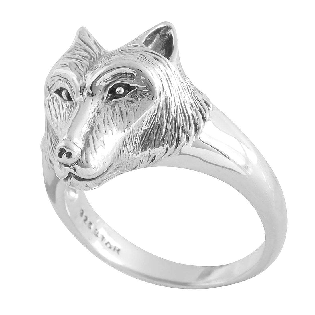 Midsummer Star Ring Running with Wolves Ring