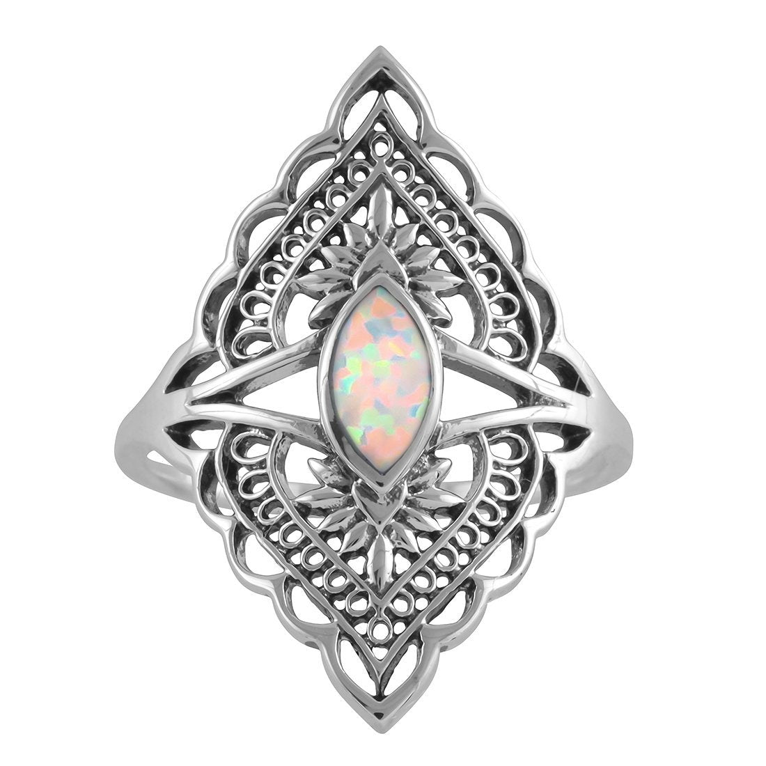 Midsummer Star Ring Shikhara Opal Ring