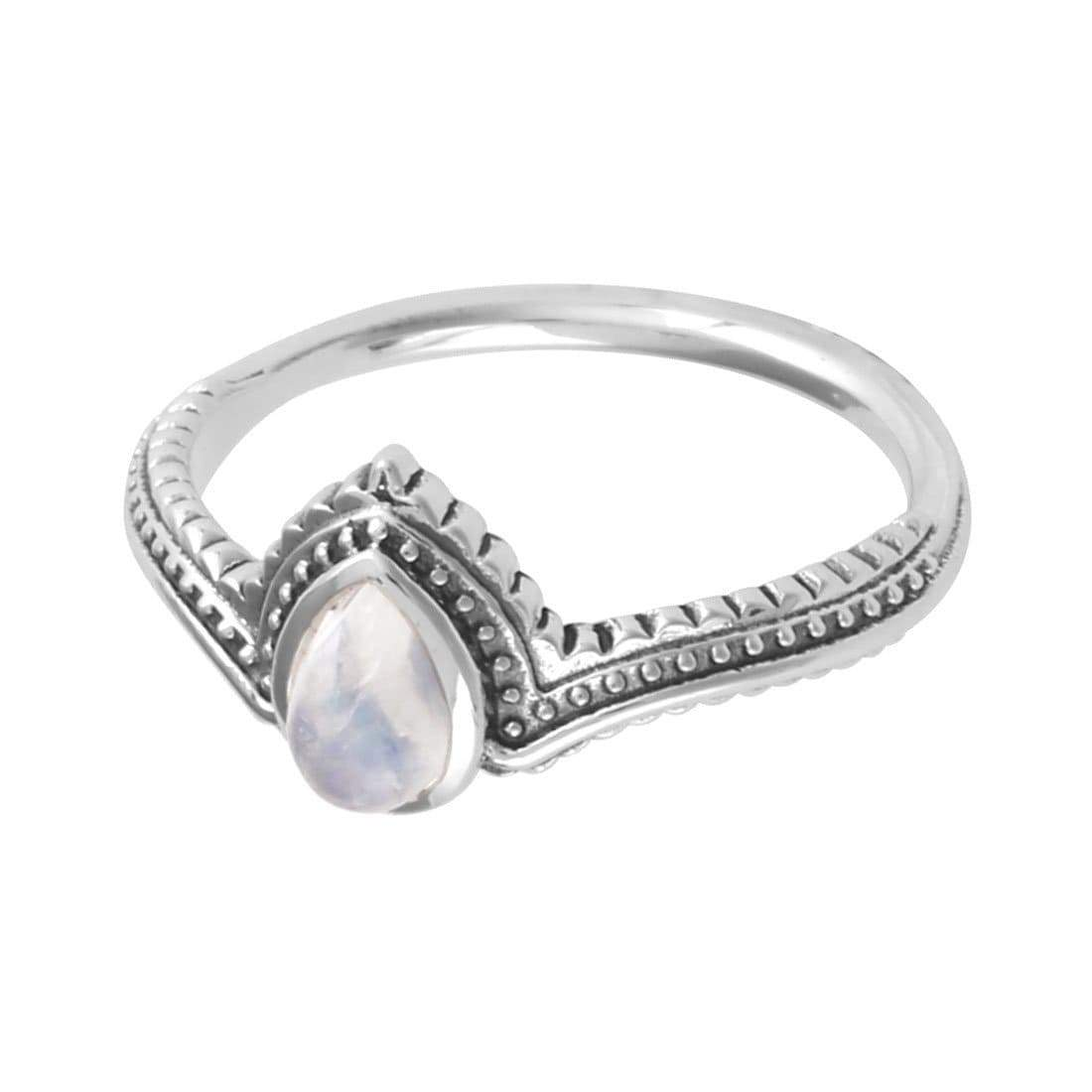 Midsummer Star Ring Solace Moonstone Ring