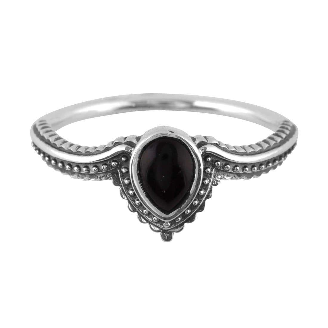 Midsummer Star Ring Solace Onyx Ring
