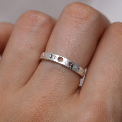 Midsummer Star Ring Sparkle of the Moon Ring
